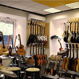 Музыкальные магазины Вербовского