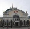 Железнодорожные вокзалы в Вербовском